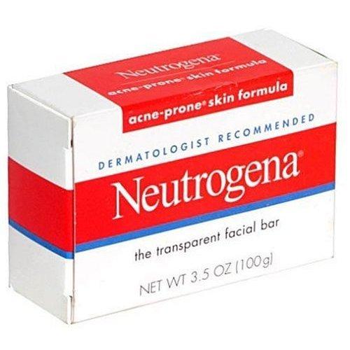 Neutrogena Transparent Facial Bars, Acne-Prone Skin Formula, 3.5 Ounc