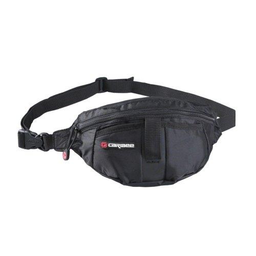 Caribee Moonlite Bum Bag / Waist Pack (Black)