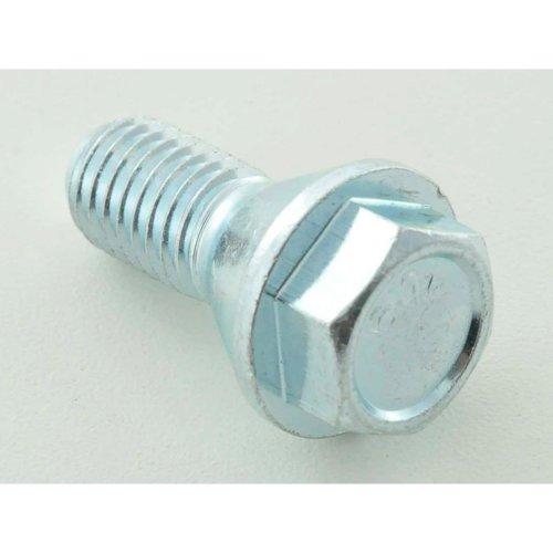 Wheel bolts Set (8 pieces), M14 x 1,5 26mm short head silver