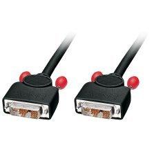 LINDY 5m DVI-D Single Link Cable. Black