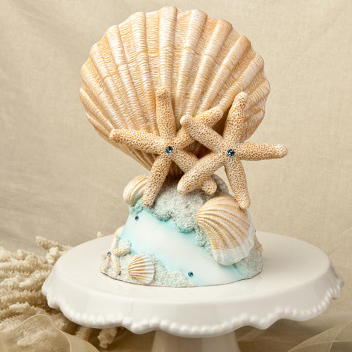 Life's A Beach Collection Wedding Cake Topper