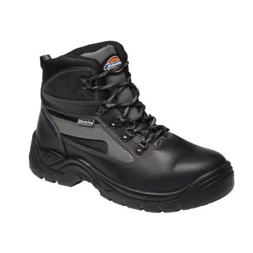 Dickies FA23500 Severn S310B Severn S3 Safety Boots S3 10 UK, 44 EU Regular - Black