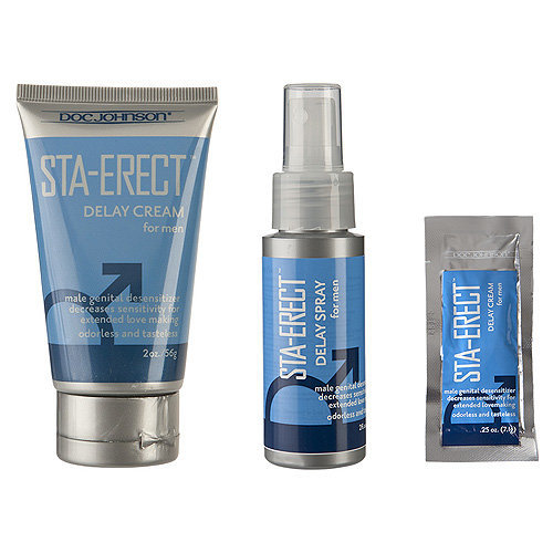 Doc Johnson Sta-Erect For Men-Spray