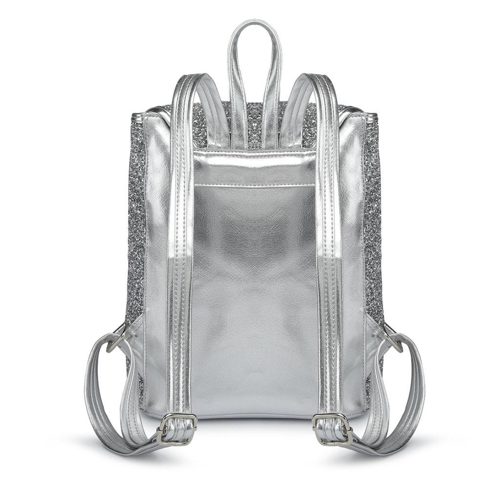d01648401 ... Miss Lulu Women Glitter Backpack Girls School Bag Fashion Rucksack - 4  ...