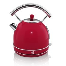 Swan Retro Dome Kettle 1.7 Litre Red (Model No. SK34020RN)