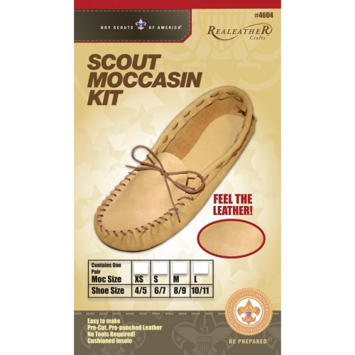 Leathercraft Kit-Scout Moccasin - Size 6/7