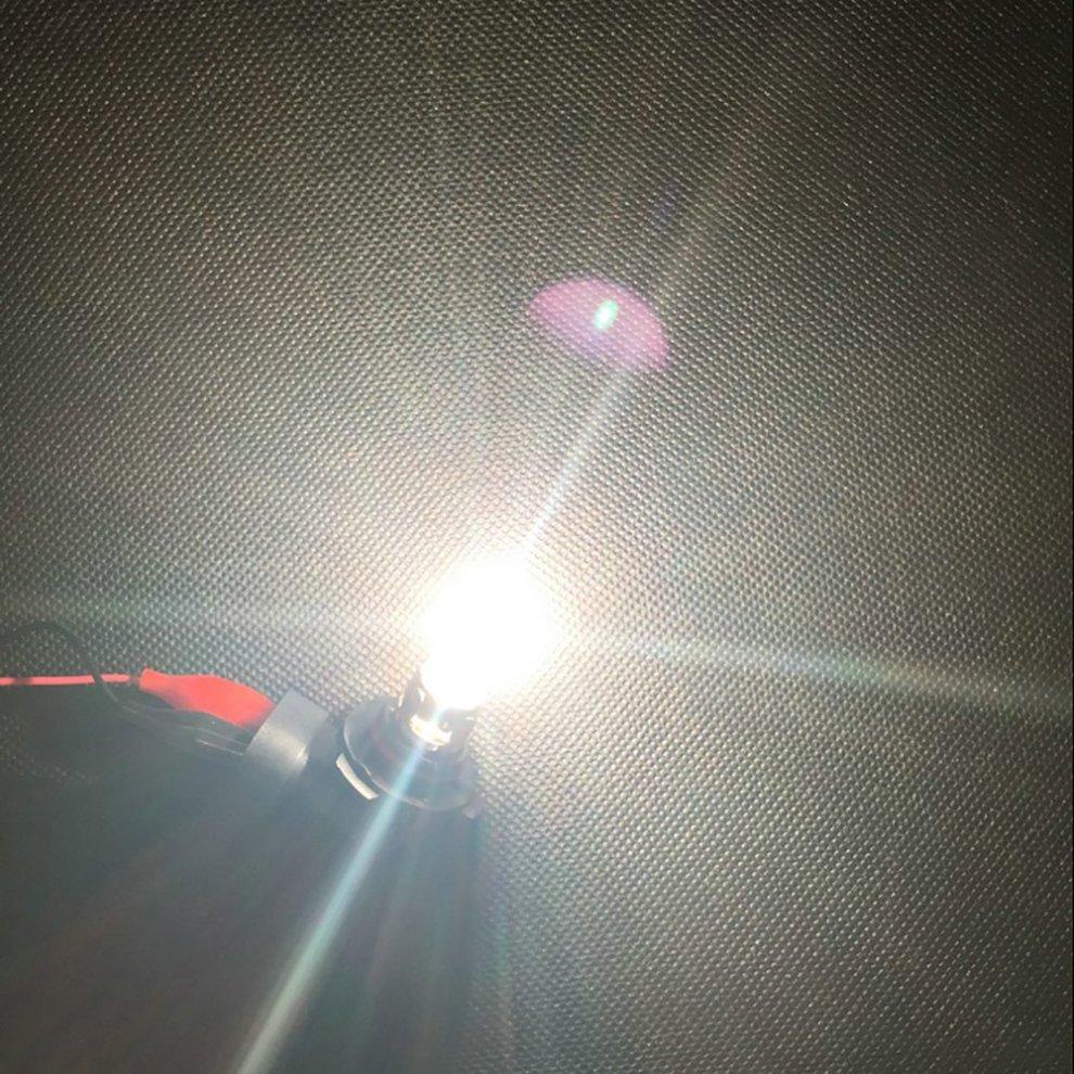 Newsun 1 Pair 9012 LL HIR2 HIR PX22d 9012 12V 55W 6500K Xenon White Halogen  Car Lamps Auto Bulbs (9012 12V 55W)