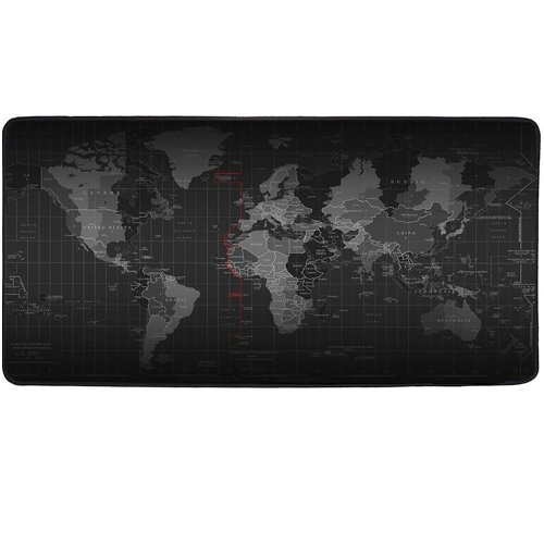 Cmhoo XXL Professional Large Mouse Pad & Computer Game Mouse Mat - 90x40 Map