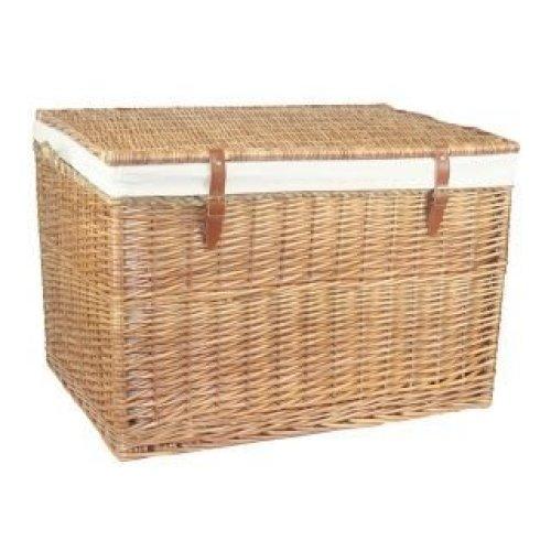Large Light Steamed Storage Wicker Basket