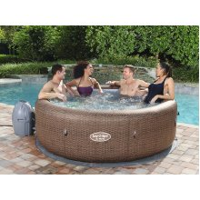 Lay Z Spa Inflatable Hot Tube 7 Seater - ST. MORITZ