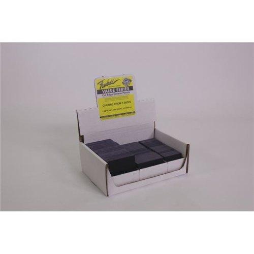 Fredrix 1539515 Mini Cut Edge Panels, Black - Case of 180
