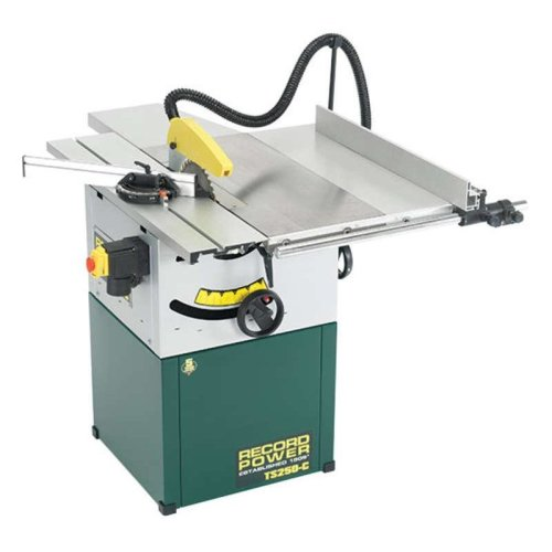 RECORD TS250C-PK/A Table Saw with Right Hand Extension