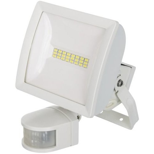 FLOODLIGHT 10W LED W/A WHITE LEDX10PIRWH By TIMEGUARD & Best Price Square