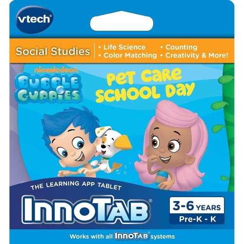 VTech InnoTab 1 2 3 3S MAX Bubble Guppies Pet Care School Day Software