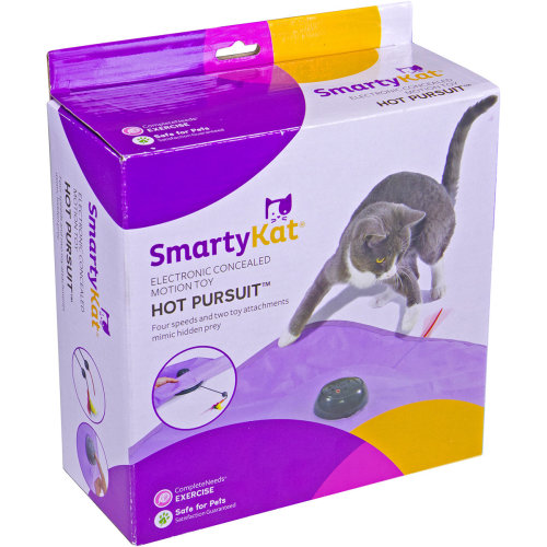 SmartyKat HotPursuit Concealed Motion Toy-