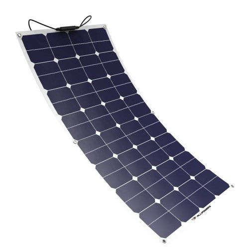 Solar Panel ALLPOWERS 100W 18V 12V Flexible SunPower Solar Charger Module with MC4 for RV, Boat, Cabin, Tent, Car, Trailer, or Any Other Irregular...