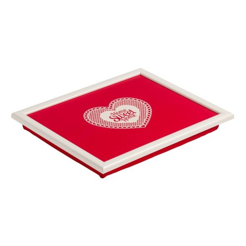 Home Sweet Home Lap Tray, Red