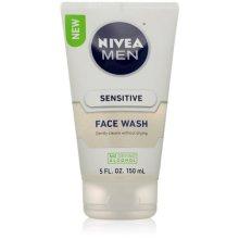 Nivea for Men Sensitive Face Wash for Men, 5 Ounce (2 pack)