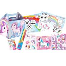 Pre-Filled Unicorn Party Favour Box   Kids' Unicorn Party Gift Box