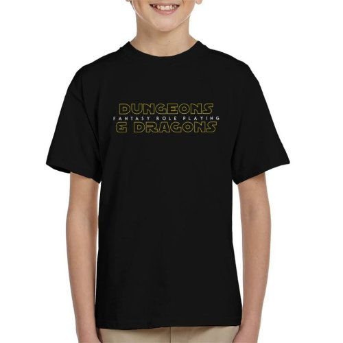 Dungeons And Dragons Fantasy Role Playing Kid's T-Shirt