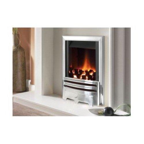 Designer Fire - Flavel FIRC37MN Silver Warwick Gas Fire - MC