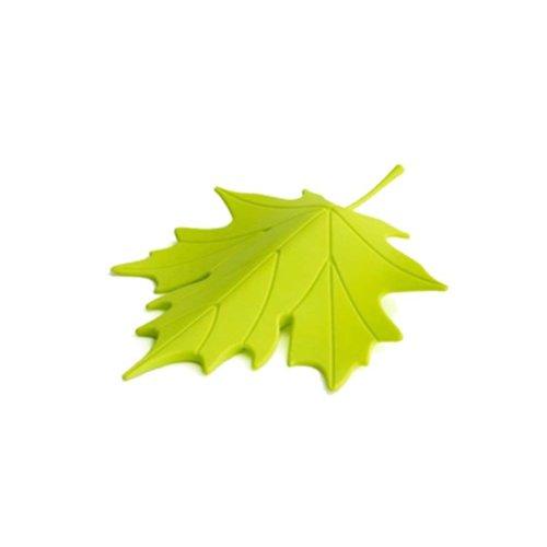 Maple Leaf Decoration Door Shield Door Stop/Holder/For Baby(Green)