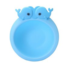 2PCS Children Lovely Washbasin Thickened Newborn Small Basin[B]