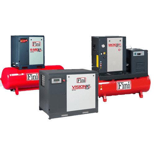 Fini Micro SE 308m 200es Screw Driven Air Compressor