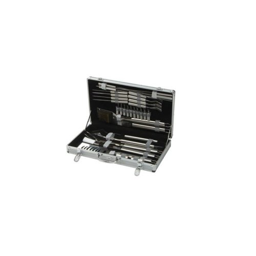 30 Piece Stainless Steel Barbecue Tool Kit