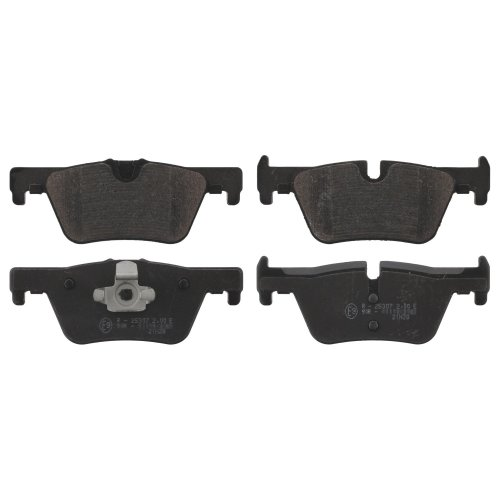 febi bilstein 16863 brake pads (Set of 4) (rear axle)