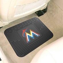 MLB Novelty Utility Mat Size: 12 x 15, MLB Team: Florida Marlins