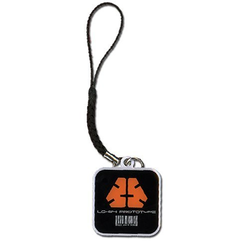 Cell Phone Charm - Metal Gear Rising - New Blade Wolf Insignia Licensed ge17091