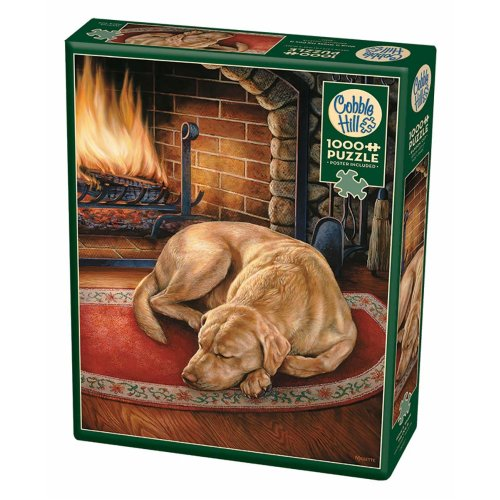 CBL80197 - Cobblehill Puzzles 1000 pc - Home is Where the Dog is