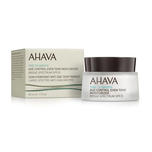 AHAVA Age Control Even Tone Moisturizer Broad Spectrum SPF 20, 50 ml