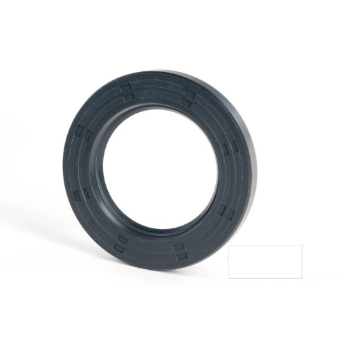 5x15x6mm Oil Seal Nitrile Single Lip With Spring 2 Pack