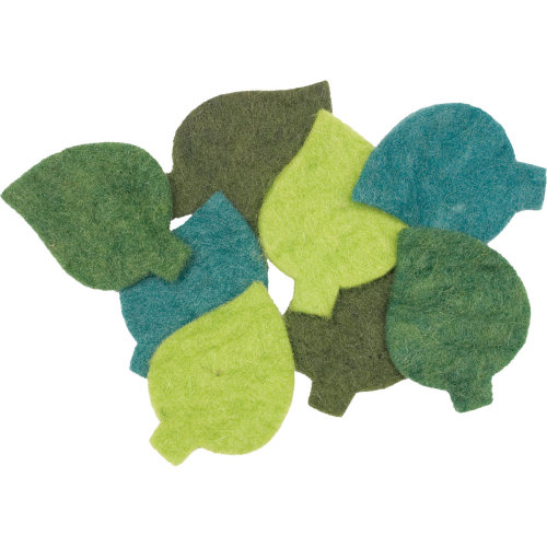 Dimensions Feltworks Leaves -8/Pkg