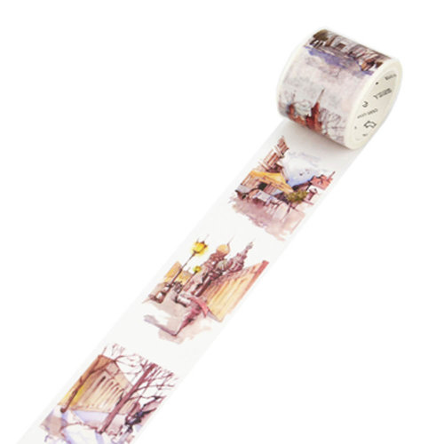 Decorative Craft Masking Tape DIY Crafts Gift Washi Tape 40mmx7m,Russia