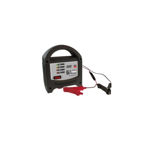 Battery Charger 6A - 12V - LED Automatic