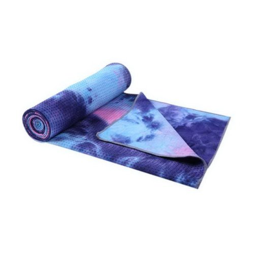 Printing Yoga Shop Towels Blanket Non-slip Yoga Mat Towel Fitness Towel Blue Ink