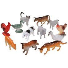 Small Set of Farm Animal's Size 2 Inch (12)