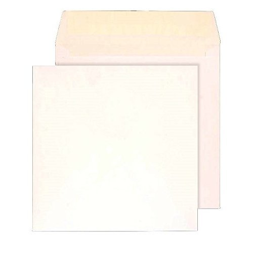 Purely Everyday 140 x 140 mm Square Wallet Peel and Seal Envelope - White (Pack of 500)