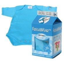 Cool Aqua Freshwear Body Suit -  freshwear clothes newborn baby blue boys romper underwear vest tops xplorys body aqua one piece 5056cm