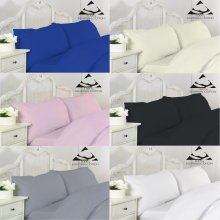 400 Thread Egyptian Cotton Hotel Quality Pillow Case Pair Pillow in Colors