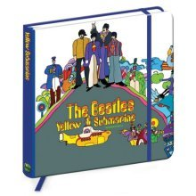 The Beatles Yellow Submarine Notebook - Official -  beatles yellow submarine notebook official