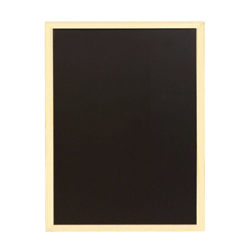 40 x 60cm Chalkboard Blackboard Wooden Frame Office Notice Menu Sign Score Board