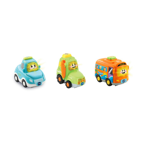 Vtech Toot-Toot Drivers 3 Car Pack Everyday Vehicles