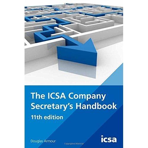 The ICSA Company Secretary's Handbook, 11th edition