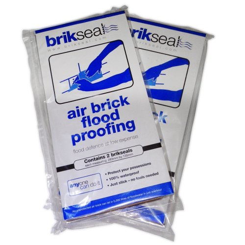 Brikseal Temporary Air Brick Seal (Pack of 2)