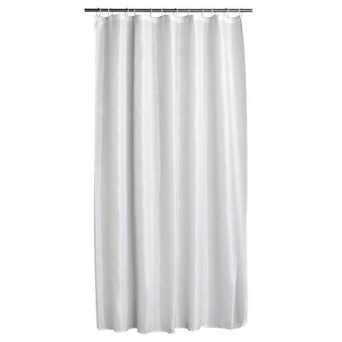 12 Hook Shower Curtain, White