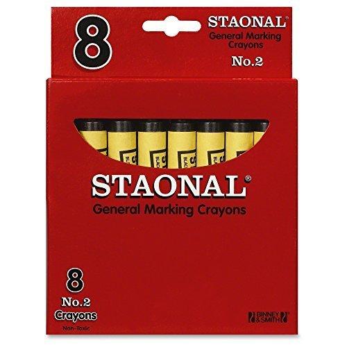 Crayola Bulk Extra Large Marking Crayons Black 8 Count